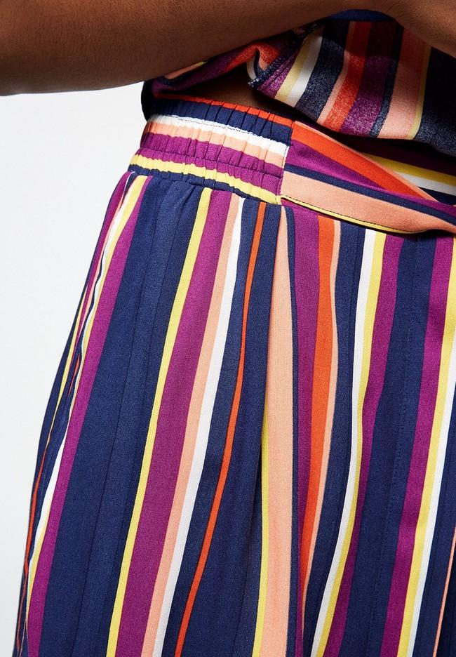 Short rayé multicolore en lenzing - aallegra - Armedangels num 3