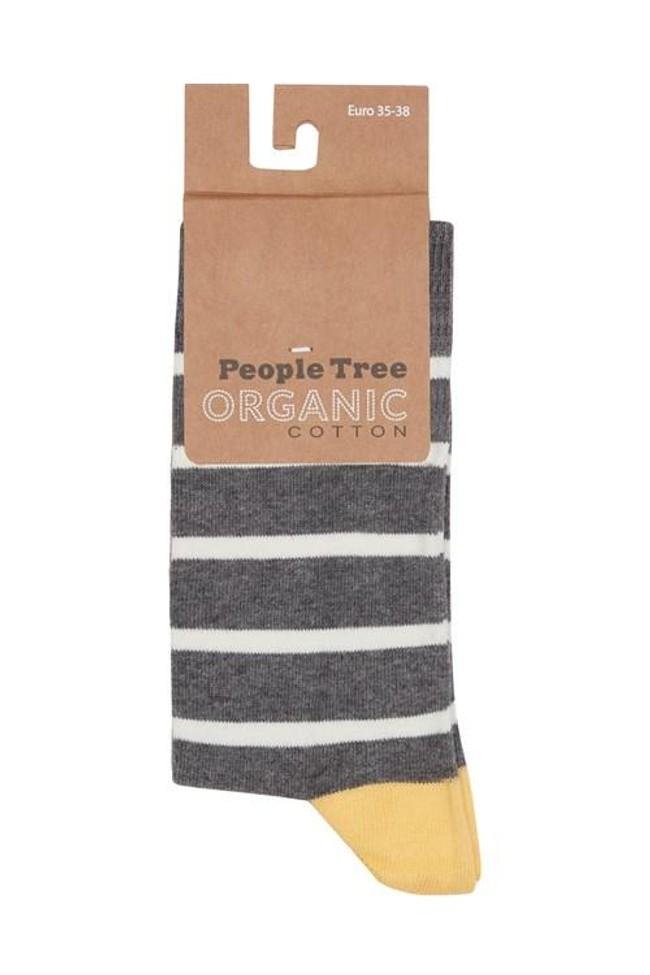 Pack 3 paires de chaussettes en coton bio - bee - People Tree num 3