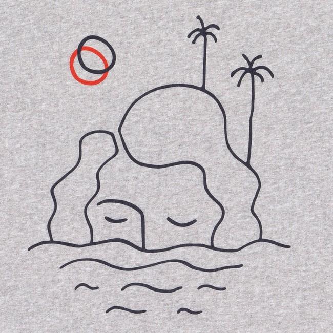 Sweat grey isla - Bask in the Sun num 2