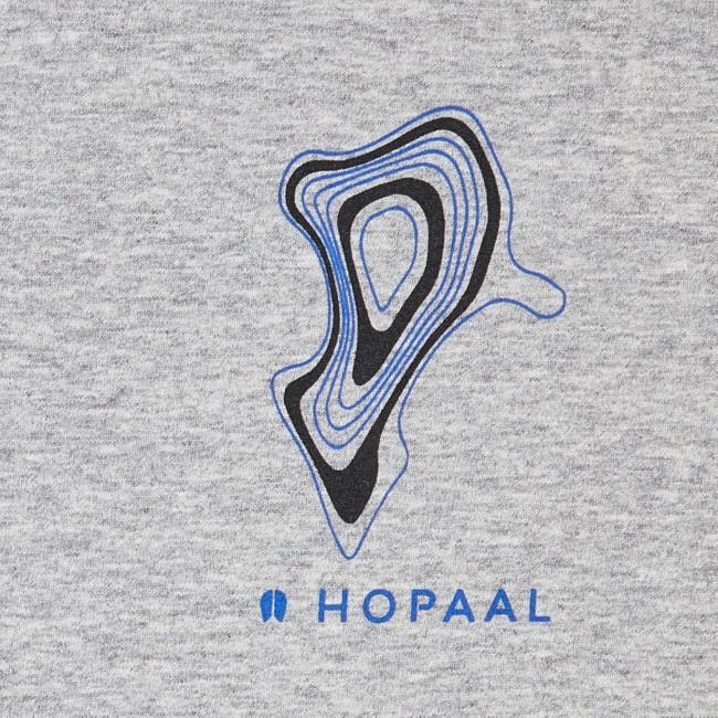 T-shirt recyclé - topo flint - Hopaal num 3