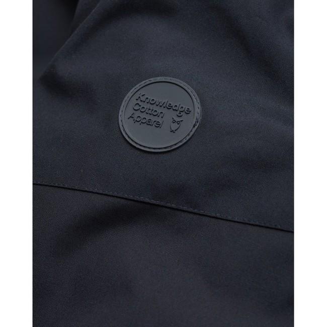 Parka marine en polyester recyclé - Knowledge Cotton Apparel num 6