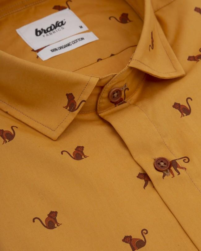 Monkey monkey printed shirt - Brava Fabrics num 3