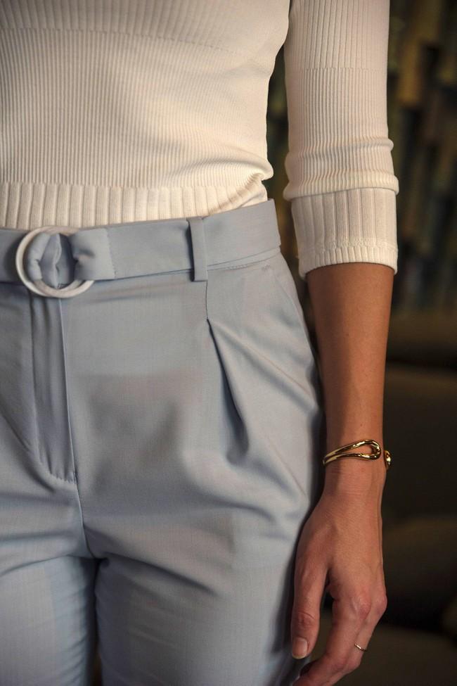 Pantalon tailleur casablanca bleu pastel - 17h10 num 2