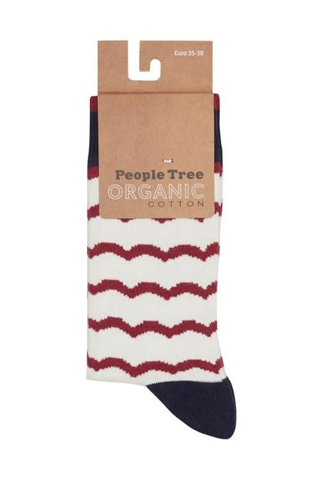 Chaussettes en coton bio - People Tree