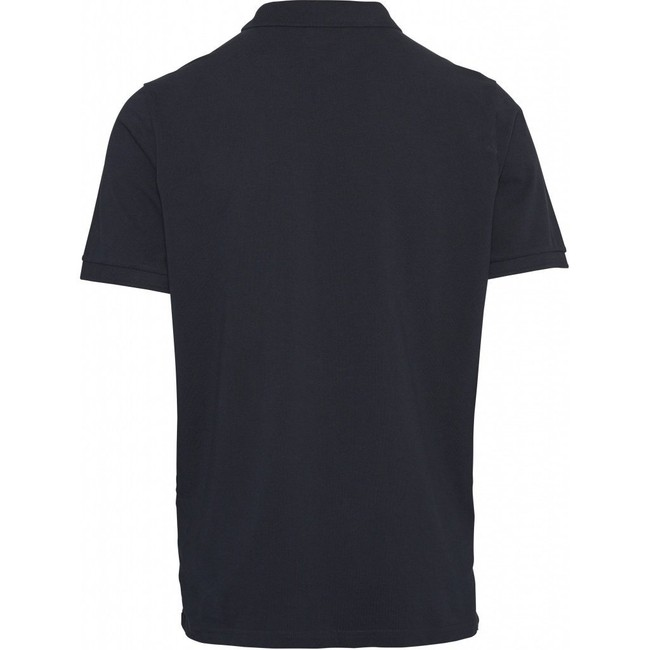 Polo bleu nuit en coton bio - Knowledge Cotton Apparel num 1