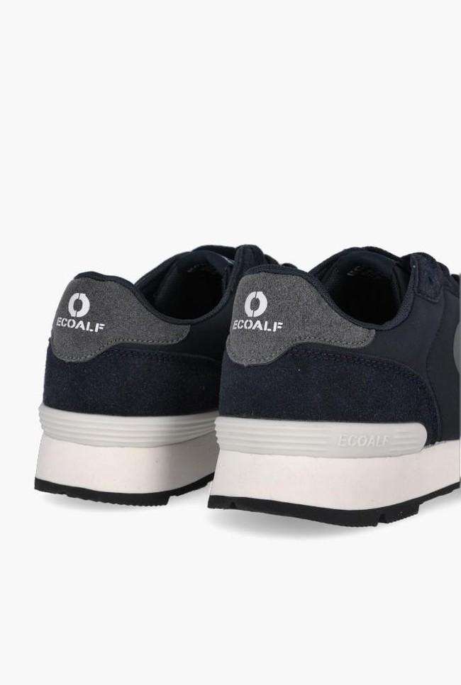 Baskets marine et grises - yale sneakers - Ecoalf num 3