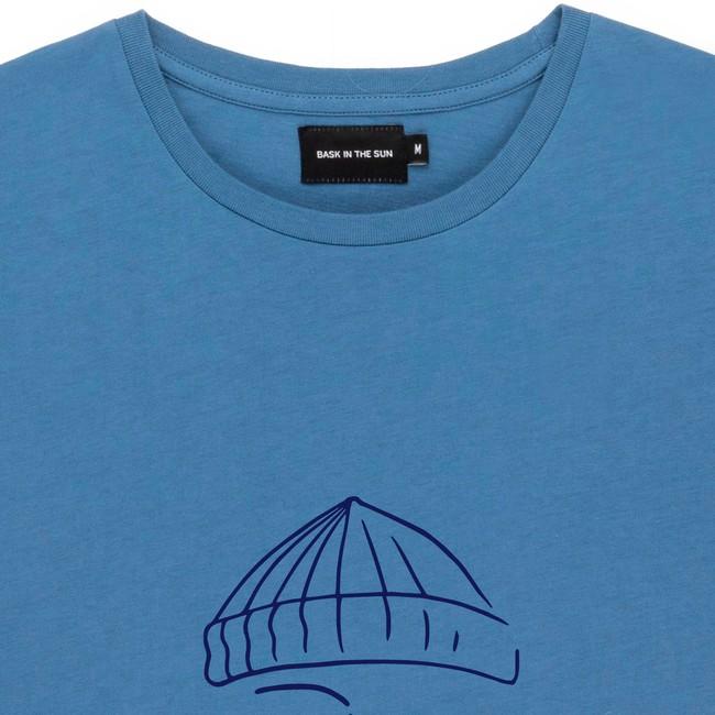 T-shirt en coton bio blue sailor - Bask in the Sun num 1