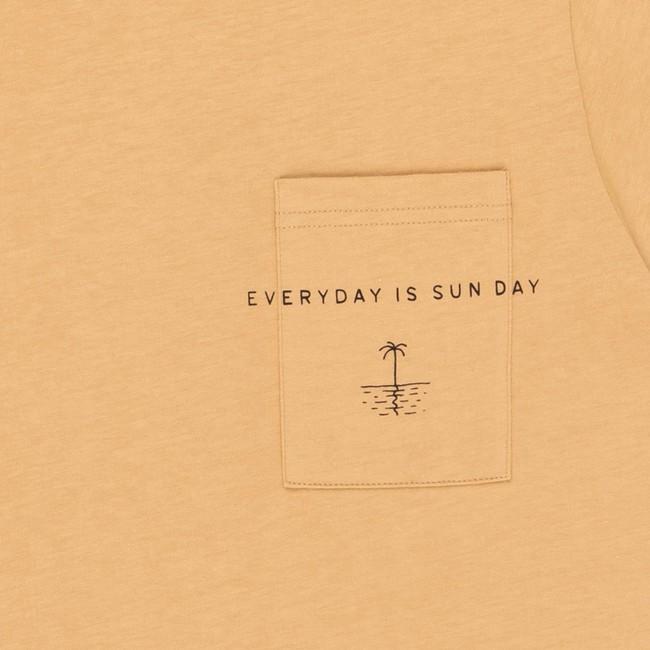 T-shirt en coton bio sand sun day - Bask in the Sun num 2