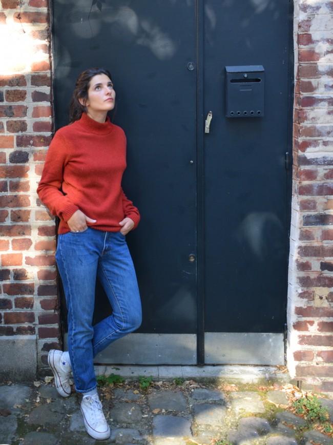 Le nikita rouge automne - Au Juste num 1