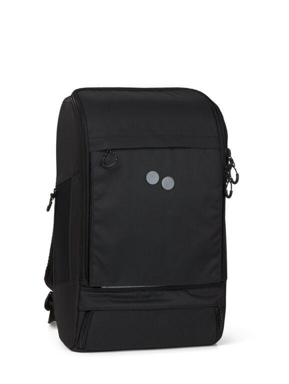 Sac à dos noir recyclé - cubik grand - pinqponq