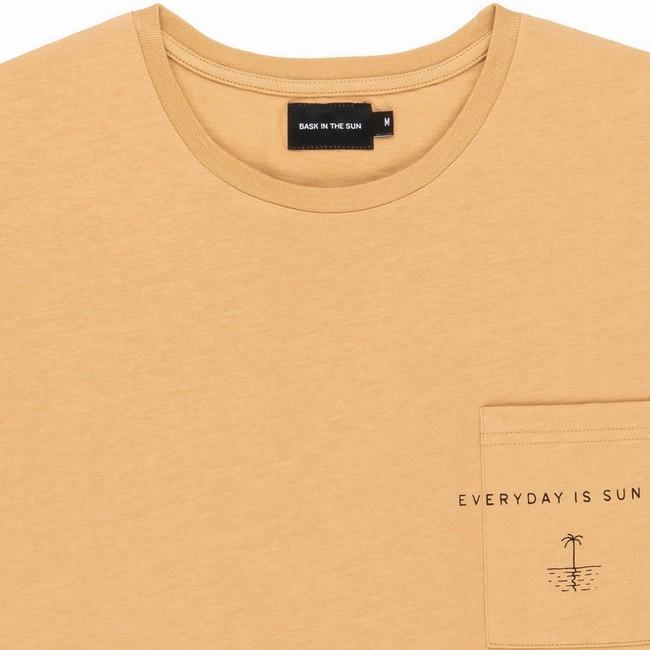 T-shirt en coton bio sand sun day - Bask in the Sun num 1