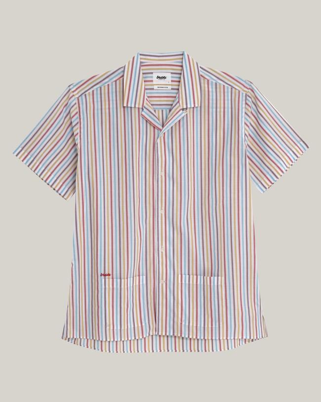 Downtown stripes aloha shirt - Brava Fabrics num 1