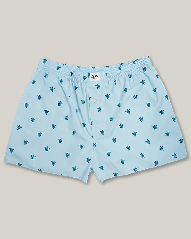 Turtle with love boxer - Brava Fabrics