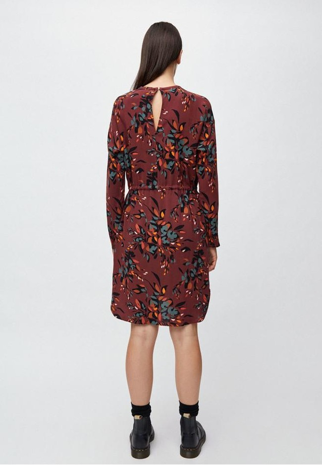 Robe à imprimés floraux en lenzing - edurnaa falling leaves - Armedangels num 1