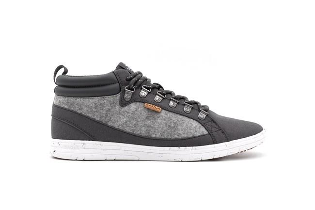 Chaussures recyclées baikal dark grey - Saola