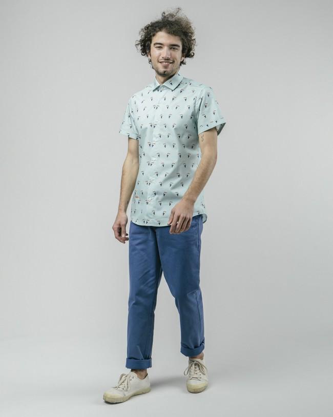 Tropical tucan printed shirt - Brava Fabrics num 4