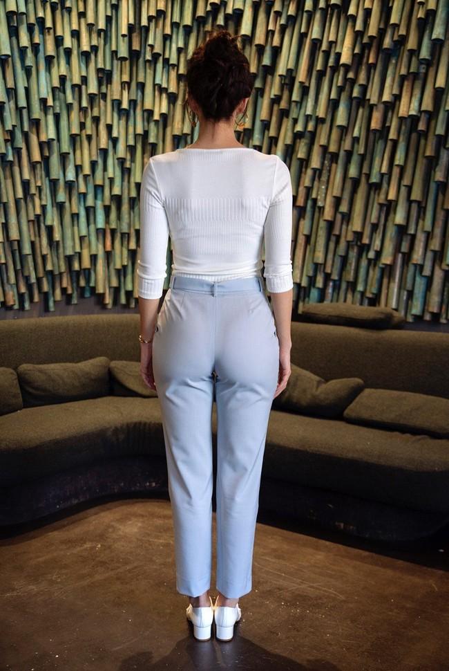 Pantalon tailleur casablanca bleu pastel - 17h10 num 3
