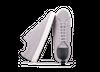 Chaussure en gravière suède gris clair / semelle blanc - Oth - 2