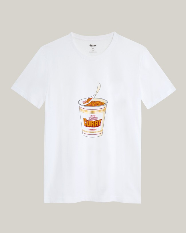 Curry to go t-shirt - Brava Fabrics num 1