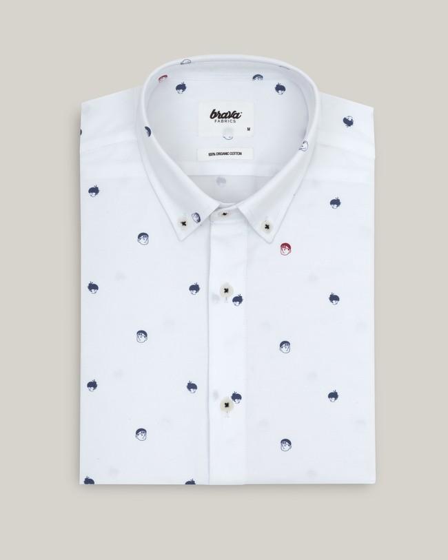 Printed shirt akito - Brava Fabrics num 1