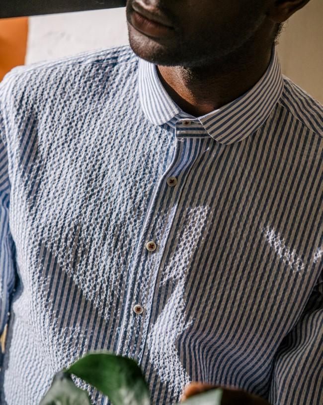 Sakuraya tea essential shirt - Brava Fabrics num 9