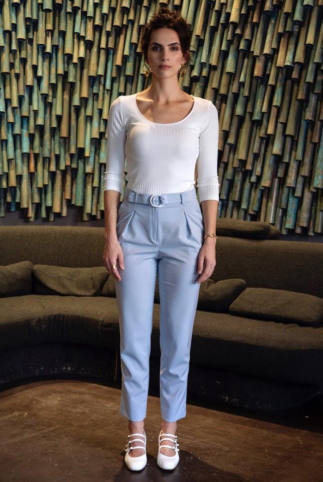 Pantalon tailleur casablanca bleu pastel - 17h10 num 1