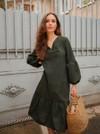 Robe verte - Maison Alfa - 1