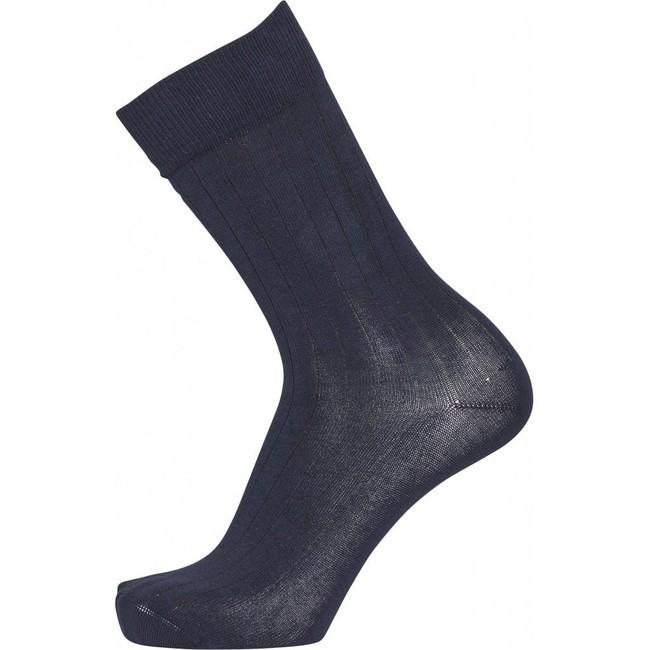 Pack 2 paires de chaussettes bleu et bleu nuit en coton bio - timber - Knowledge Cotton Apparel num 2