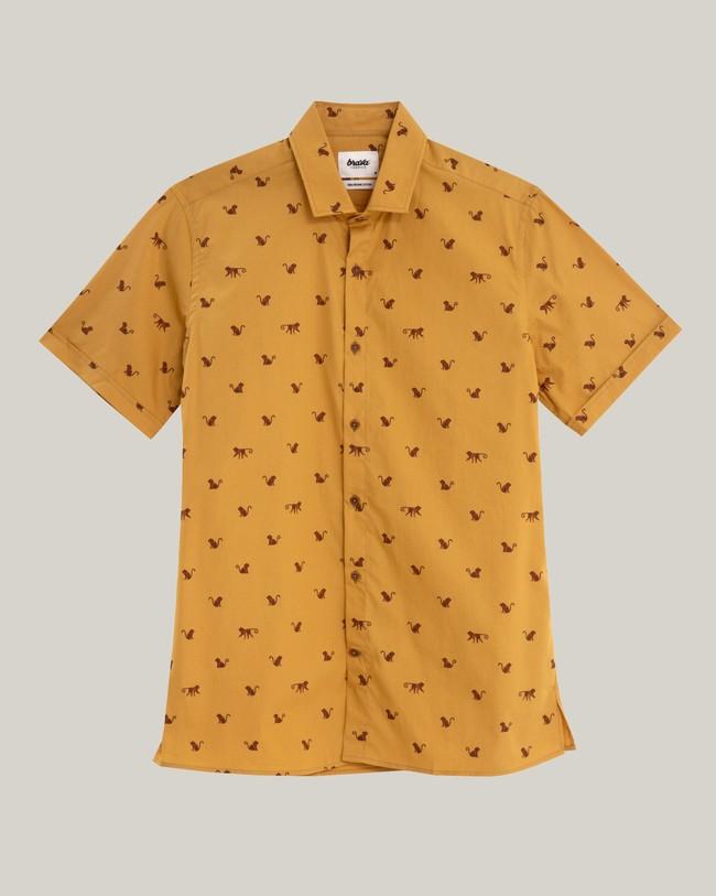Monkey monkey printed shirt - Brava Fabrics num 2