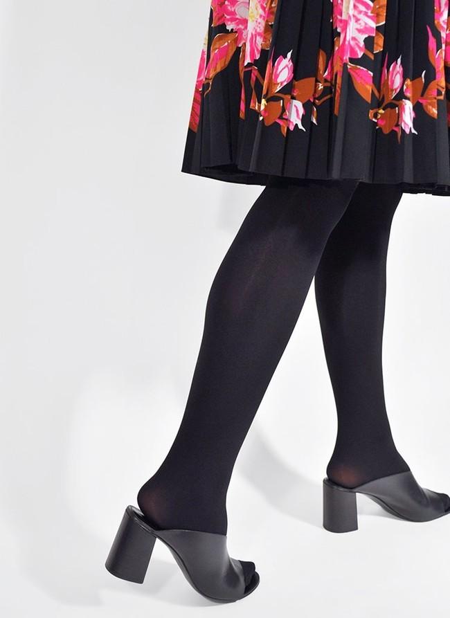 Collants 100 deniers noirs recyclés - lia - Swedish Stockings num 1