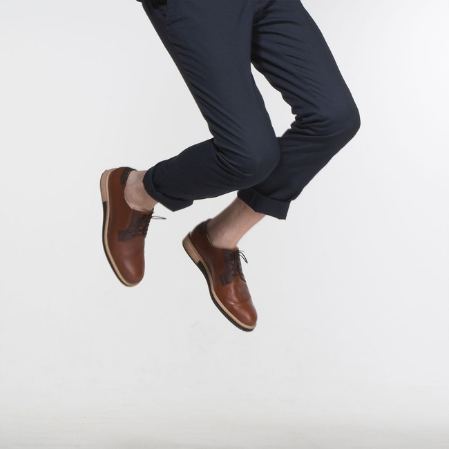 Derbies alpha low - camel - Subtle num 6