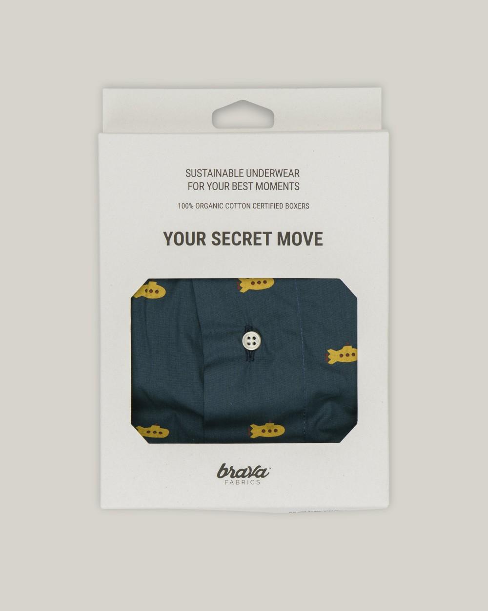Yellow submarine boxer - Brava Fabrics