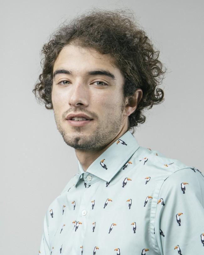 Tropical tucan printed shirt - Brava Fabrics num 5