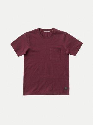 T-shirt figue avec poche en coton bio - kurt - Nudie Jeans num 3