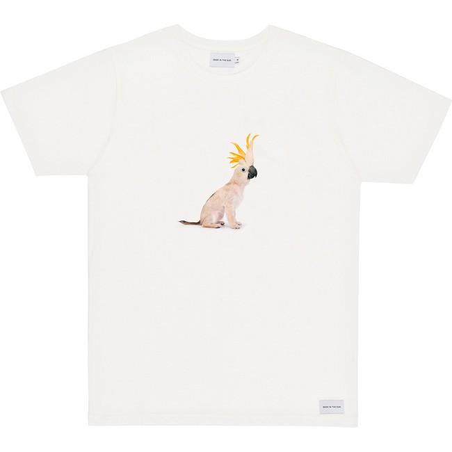 T-shirt en coton bio white cockatoo - Bask in the Sun