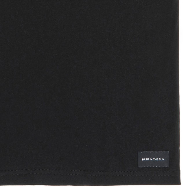 T-shirt en coton bio black cards - Bask in the Sun num 3