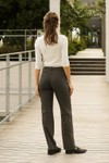 Pantalon tailleur berlin taupe - 17h10 - 2