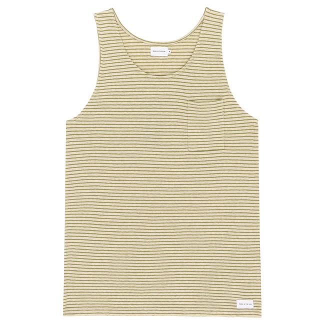 T-shirt olive esteban - Bask in the Sun