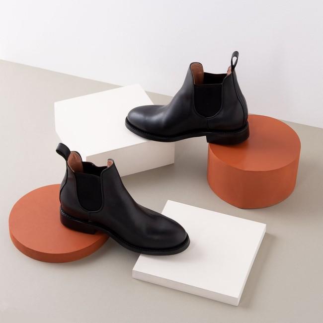 Pedro chelsea tire boot black - Cano num 3