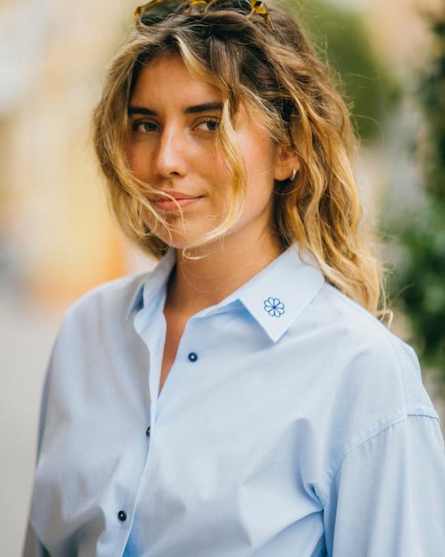 Tile essential oversized blouse - Brava Fabrics num 7