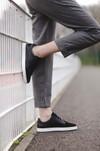Chaussure en gravière cuir noir / suède noir - Oth - 6