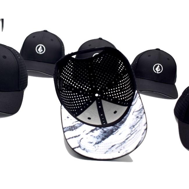 Wild cap - casquette technique recyclée [black] - Nosc num 4
