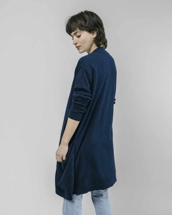 Crane for luck oversized cardigan - Brava Fabrics num 5