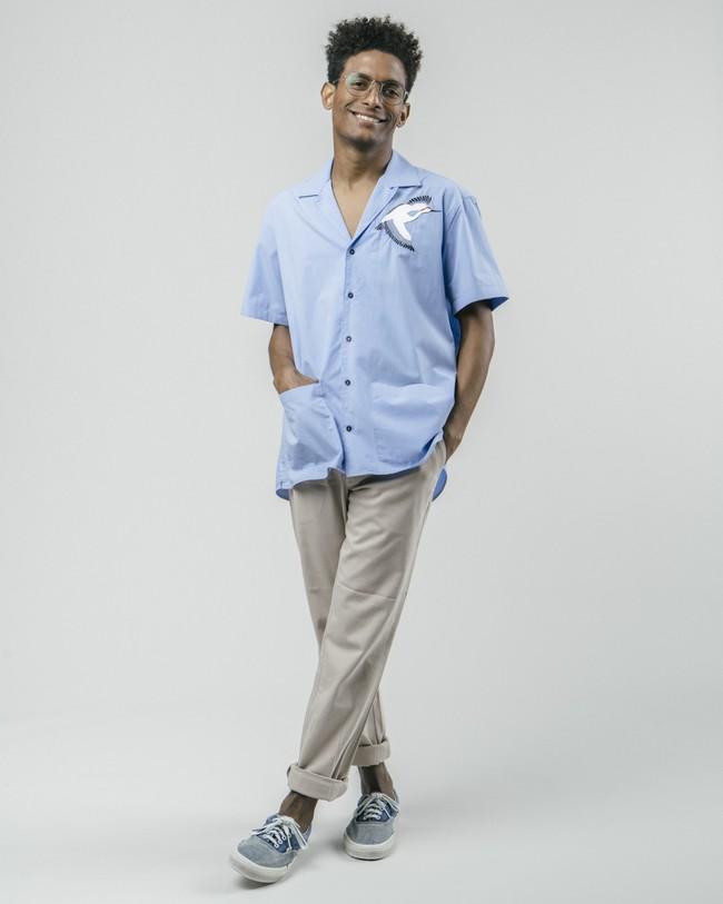 Crane for luck essential shirt - Brava Fabrics num 4