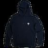 Sweat à capuche bleu marine • éléphant blanc - Omnia in uno - 5