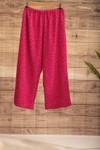 Pantalon provence rose à pois - Bagarreuse - 2