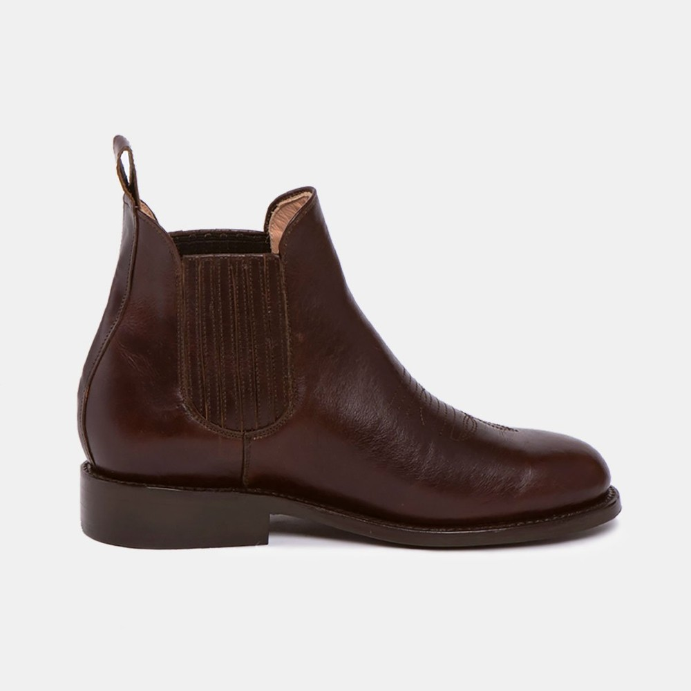 Carlos charro boot chocolate - Cano