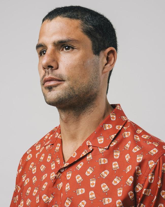 Curry to go printed shirt - Brava Fabrics num 4