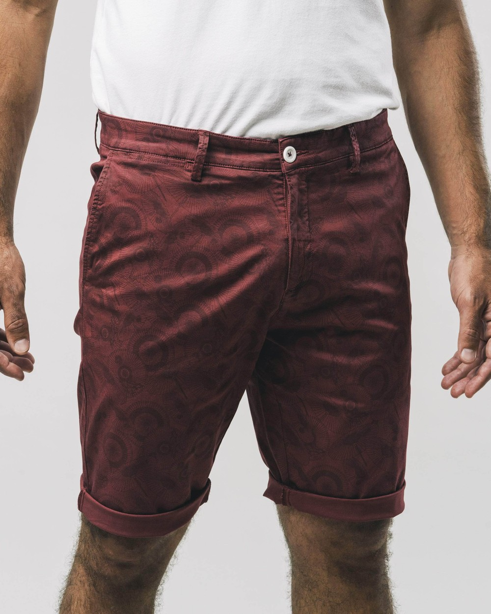 The osaka parasol printed shorts - Brava Fabrics