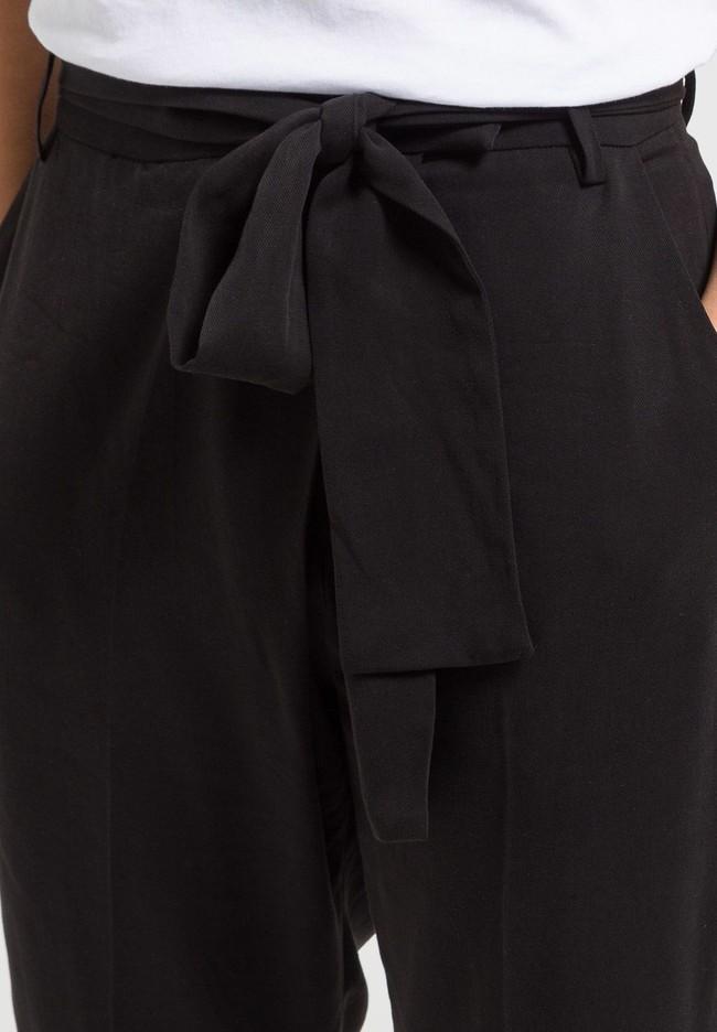 Pantalon noir en tencel - jolena - Armedangels num 2